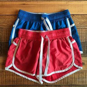 CHAMPION C9 Retro Shorts- TWO PAIRS! 💙💕
